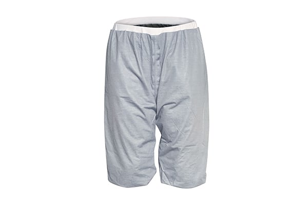 Pjama behandlingsshorts grå